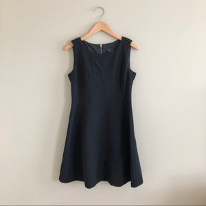 Just Taylor black fit and flare dress
